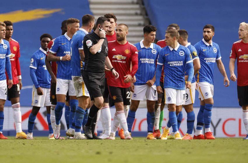 Дузпа след последния съдийски сигнал донесе първа победа на Манчестър Юнайтед