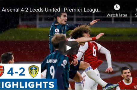 Арсенал 4-2 Лийдс