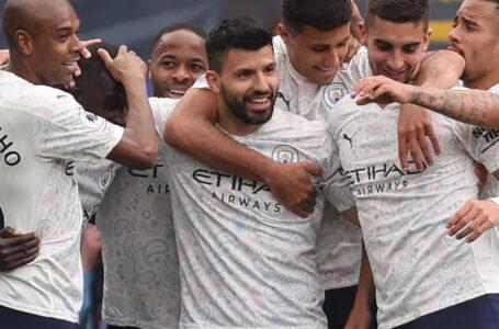 """Манчестър Сити ще спечели титлата във Висшата лига УТРЕ, ако Ливърпул победи Ман Юнайтед, а """"смъртоносният"""" Серхио Агуеро демонстрира класата си в Кристъл Палас"""