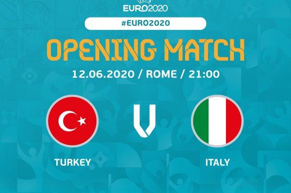 Откриване на Евро 2020: Турция - Италия