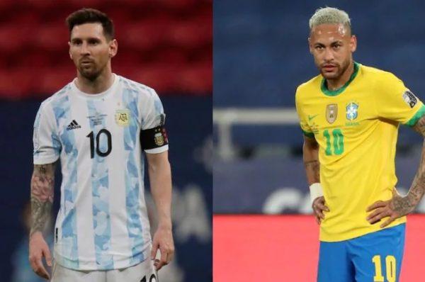Евро 2020: Аржентина - Бразилия