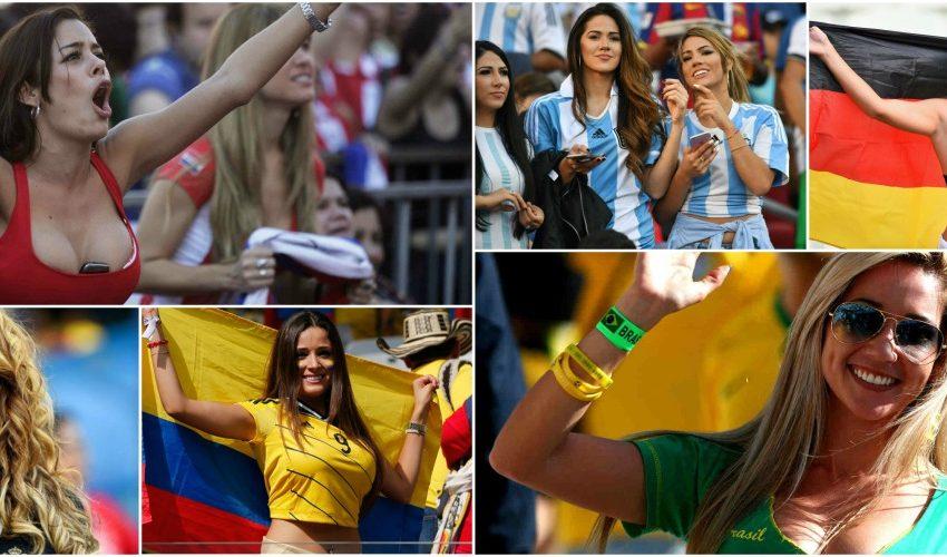 Топ 10 на страните с най-горещи футболни фенки